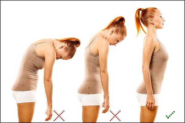 correct your body posture