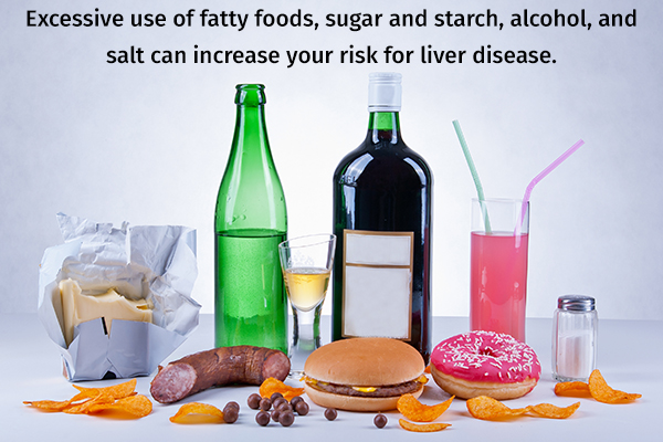 foods harmful for liver health