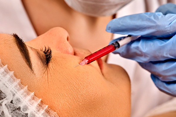 injections can help plump up your skin