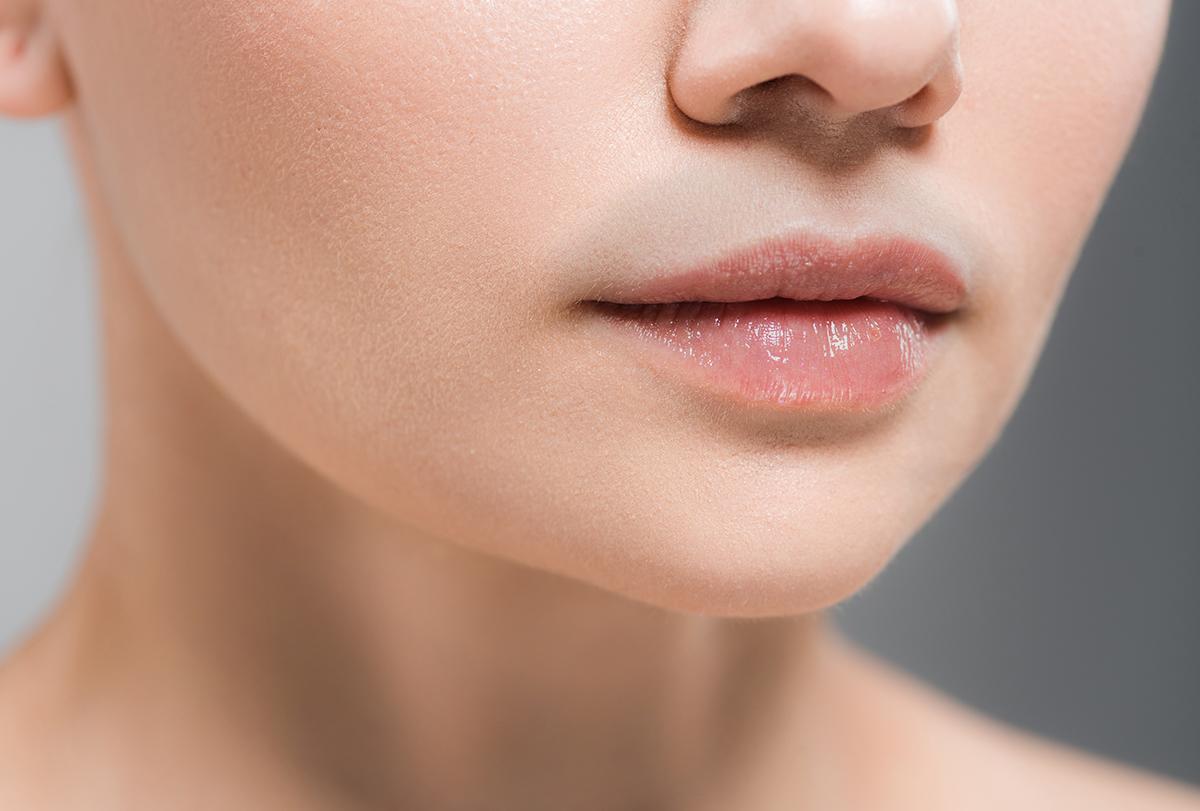 lighten dark upper lip