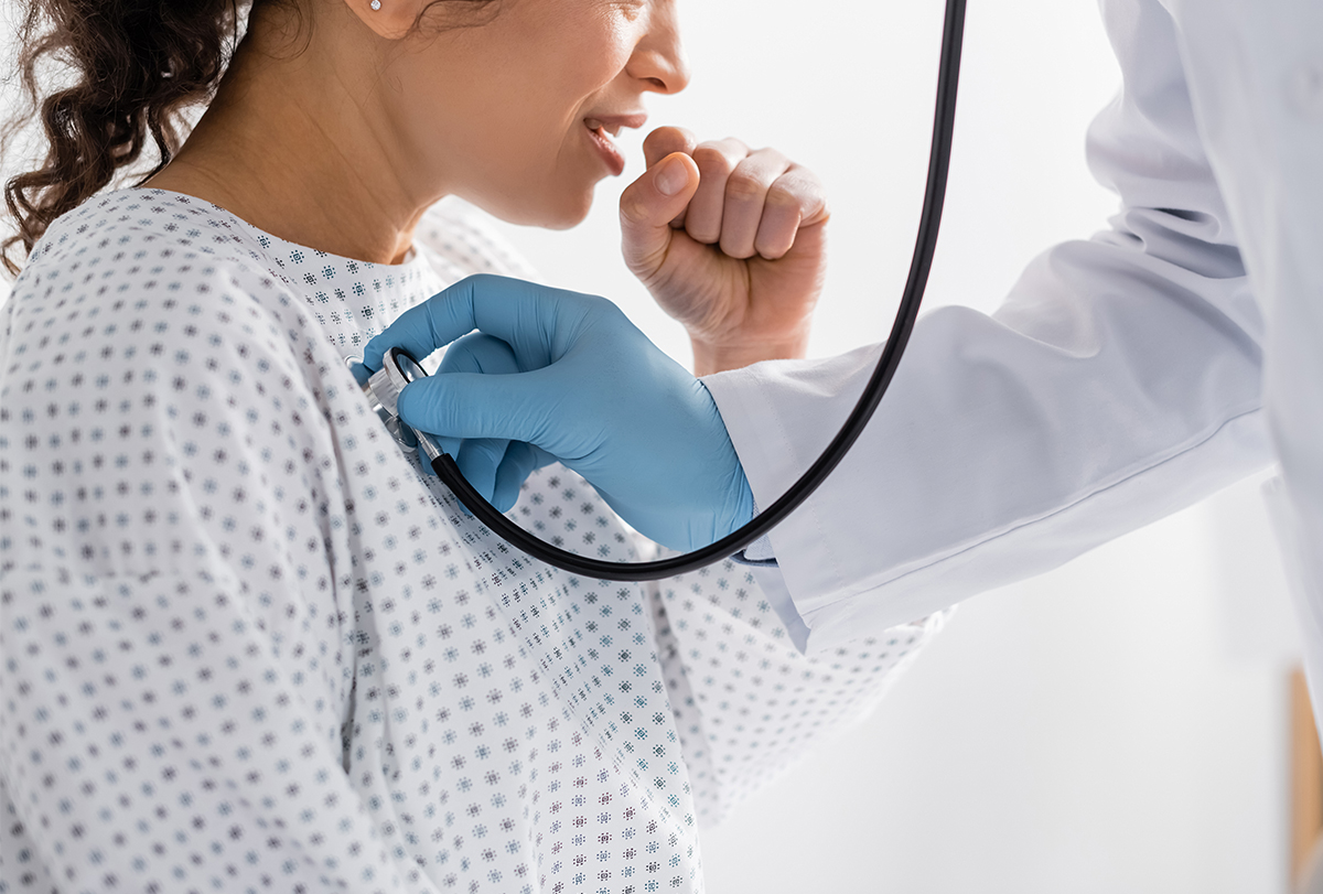 manage pneumonia
