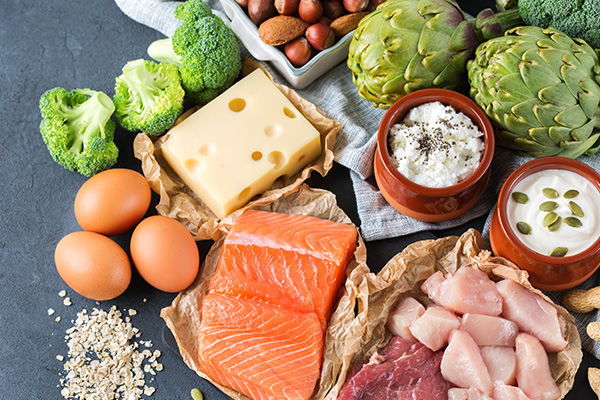 dietary changes for pneumonia patients