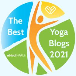 yoga blog award by eMediHealth