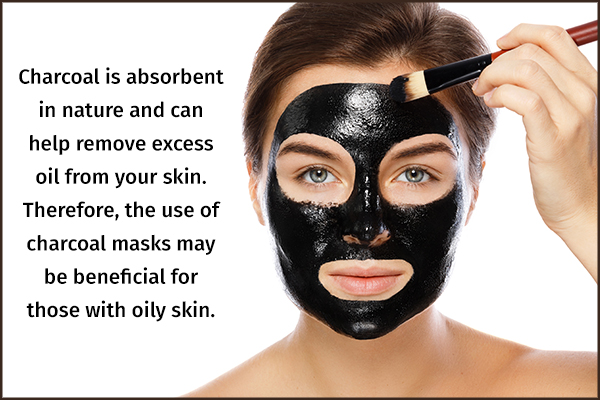 charcoal peel-off mask for ensuring glowing skin