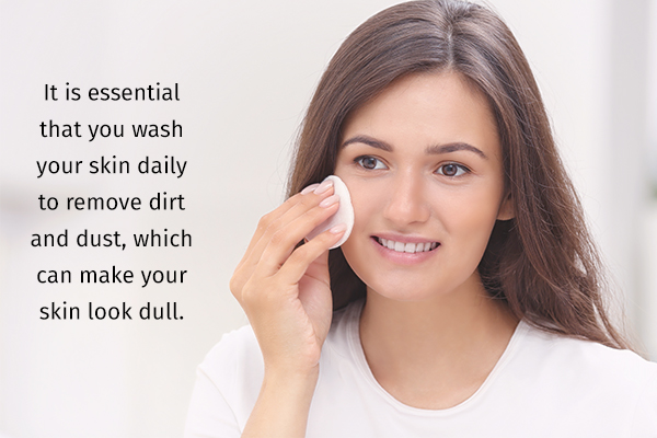use facial cleansers for rejuvenating dull skin