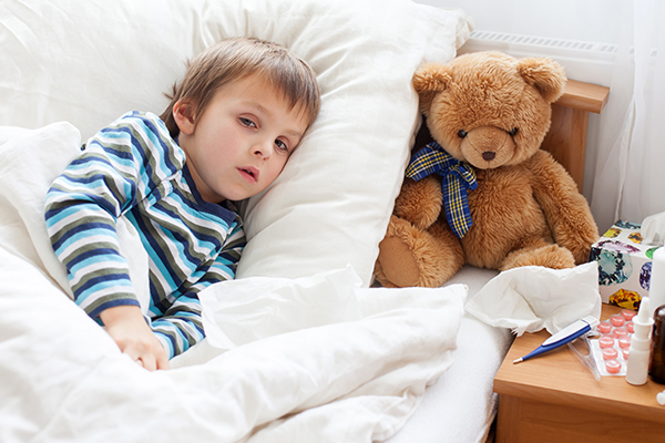 risk factors associated with fever in children