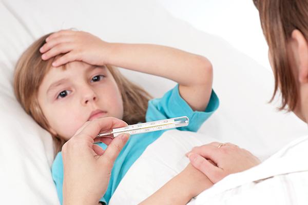 fever symptoms in children