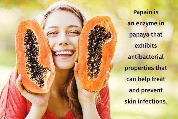use papaya to get clear, glowing skin