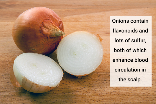 onions for enhancing hair growth