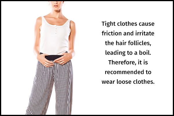 tips to prevent boils on skin