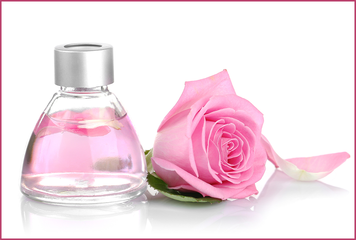 rose water skin and hair benefits