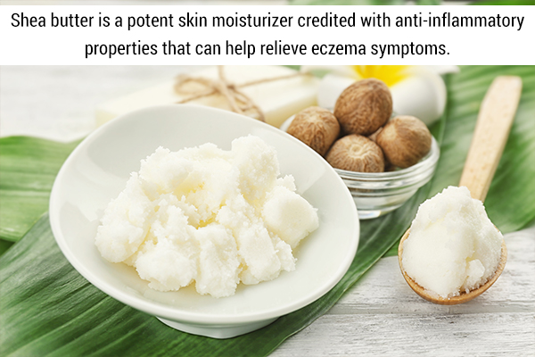 shea butter usage can help manage eczema symptoms