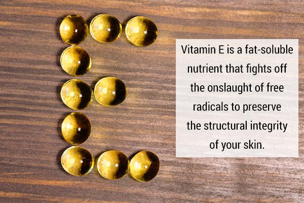 vitamin E can help relieve eczema symptoms