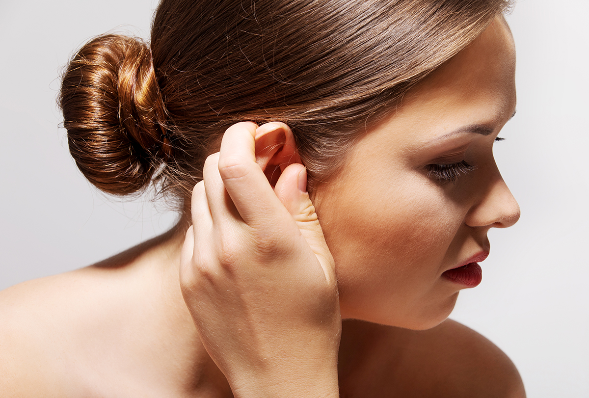 pimples in ear causes
