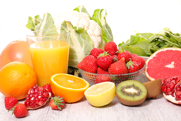 consume vitamin C-rich foods to avoid abrasions