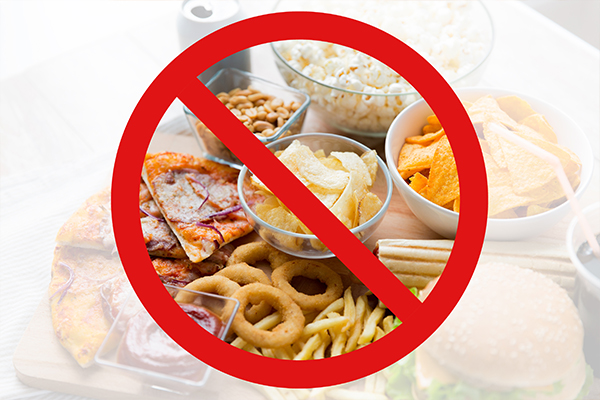 foods to avoid for ensuring eye health