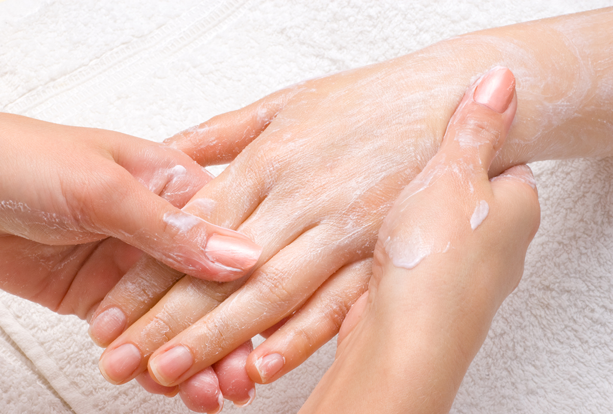 remedies for wrinkled hands