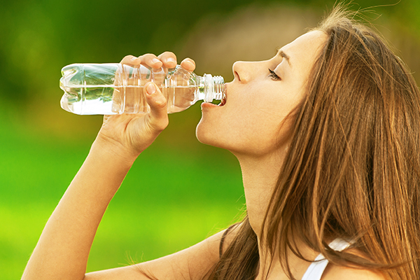 maintain adequate water intake for healthy digestive system