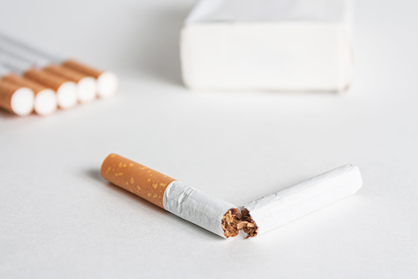 quit smoking to prevent any digestive ailments