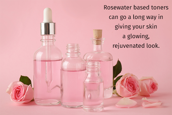 rosewater-based toners can keep your skin fresh and glowing